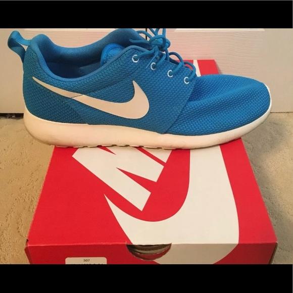 d3a295e595c71 Mens Nike Roshe Run Blue Hero size 13. M 5b2eed20c9bf50f7aab1cd58